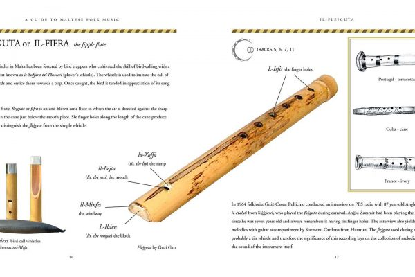 Flejguta - Maltese cane flute